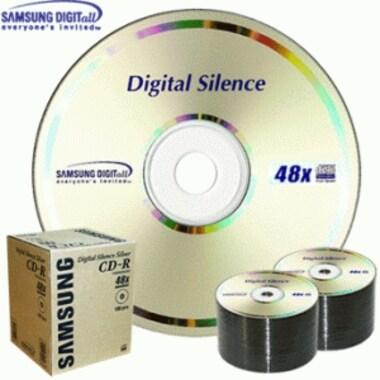 삼성전자 CD-R 700MB 48x 벌크 100장 D/S_이미지