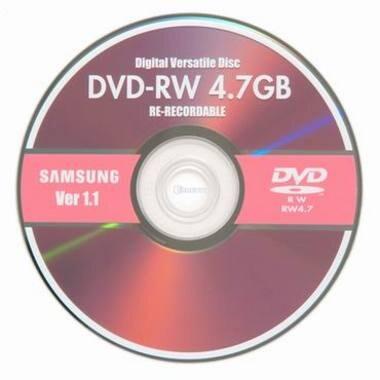 삼성전자 DVD-RW 4.7GB 1x 쥬얼 1장_이미지