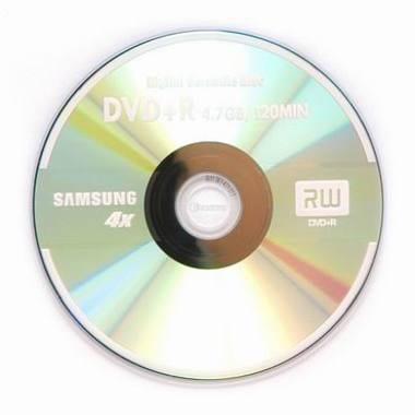 삼성전자 DVD+R 4.7GB 4x 쥬얼 10장_이미지