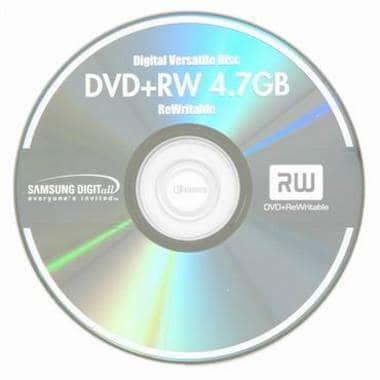 삼성전자  DVD+RW 4.7GB 2.4x 쥬얼 10장_이미지