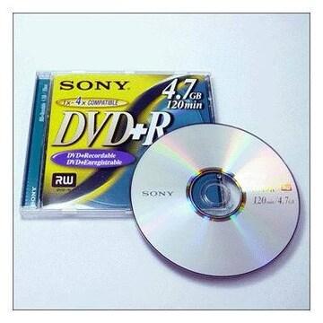 SONY DVD+R 4.7GB 4x 쥬얼 5장_이미지