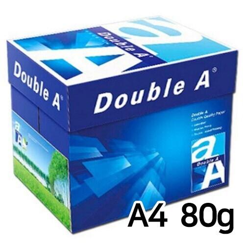 더블에이 복사용지 A4 80g 500매 (5개, 2500매)