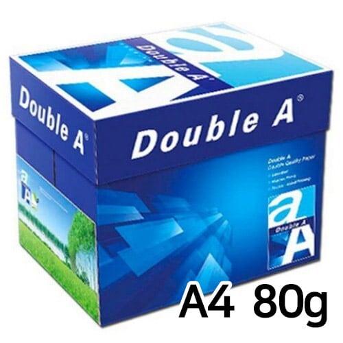 더블에이 복사용지 A4 80g(5팩, 2500매)