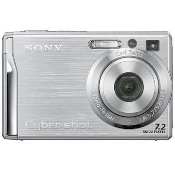 SONY 사이버샷 DSC-W80 실버 (기본 패키지)_이미지