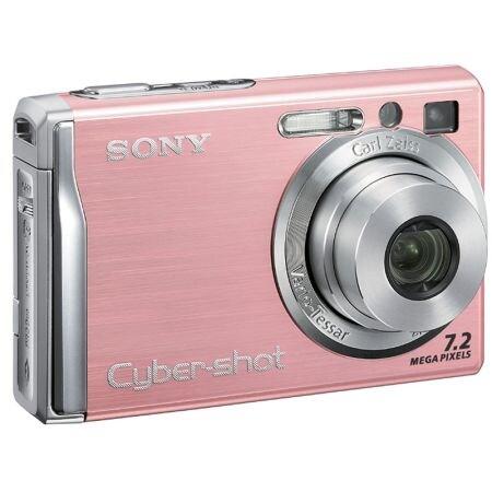 SONY 사이버샷 DSC-W80 핑크 (기본 패키지)_이미지