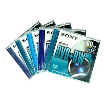 SONY DPW60DSS2E DVD+RW 60분 (2장)_이미지