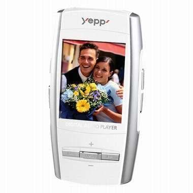 삼성전자 YEPP YP-T8 화이트 (512MB)_이미지