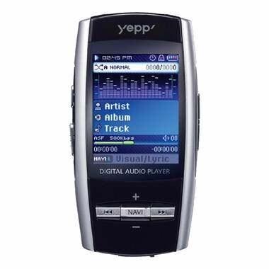 삼성전자 YEPP YP-T8 블랙 (1GB)_이미지
