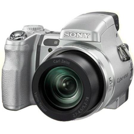 SONY 사이버샷 DSC-H9 실버 (기본 패키지)_이미지