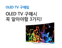 OLED TV 구매팁