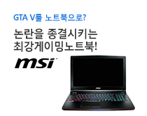 다나와 게이밍 프로모션 - GTA V 노트북