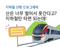 지하철 산행