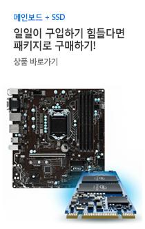 메인보드 SSD 패키지