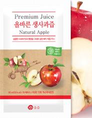 [50%▼] 국내산 사과 + 비농축 올즙 생 사과즙 30포 9,900원 + 무배
