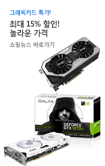 그래픽카드 특가 상품 쇼핑뉴스