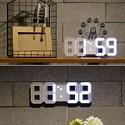 조명형 알람<br /> 3D LED 벽시계
