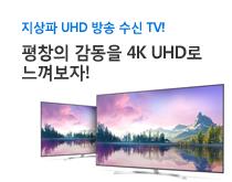 평창용 지상파UHD TV