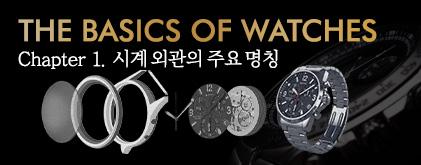 시계 외관의 주요 명칭