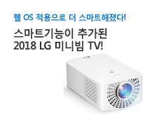 2018 LG 미니빔 TV