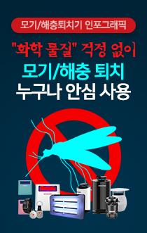 모기/해충퇴치기 인포그래픽
