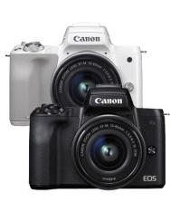 캐논 EOS M50 더블렌즈킷 84만원대+메모리+가방 증정!
