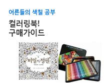 어른들의 색칠공부 컬러링북