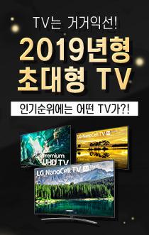 2019 초대형 TV BEST!