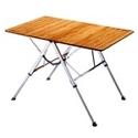 3단계 높이 조절 <br /> 대나무 테이블