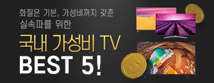 국내 가성비 TV