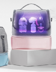 휴대하면서 소독이 가능하다고?  아이팜 LED 휴대용 젖병 보냉 가방