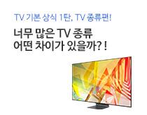 TV 종류별 인포그래픽