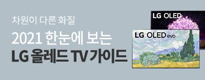 2021 LG 올레드 TV 가이드