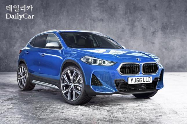 BMW, X2 예상 렌더링 (출처 오토익스프레스)