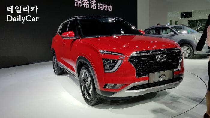 2019 상하이 국제모터쇼 ix25