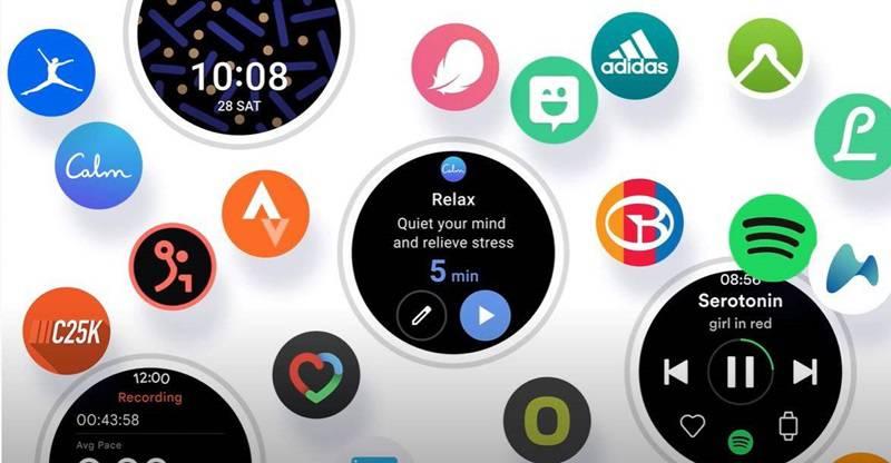 원 UI 워치 (출처=삼성전자)