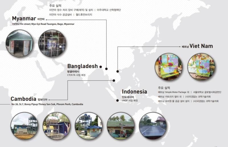 글로리엔텍이 구축한 주요 해외 네트워크, 출처: 글로리엔텍