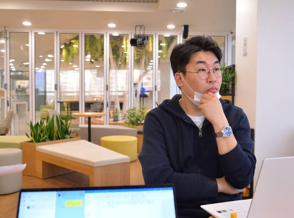 서울먹거리창업센터에서 만난 푼타컴퍼니 장진호 대표, 출처: IT동아