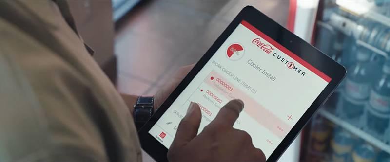 코카콜라는 세일즈포스 포 서비스 및 필드 서비스 라이트닝을 도입해 현장 업무와 자원관리를 디지털화했다. 출처=세일즈포스