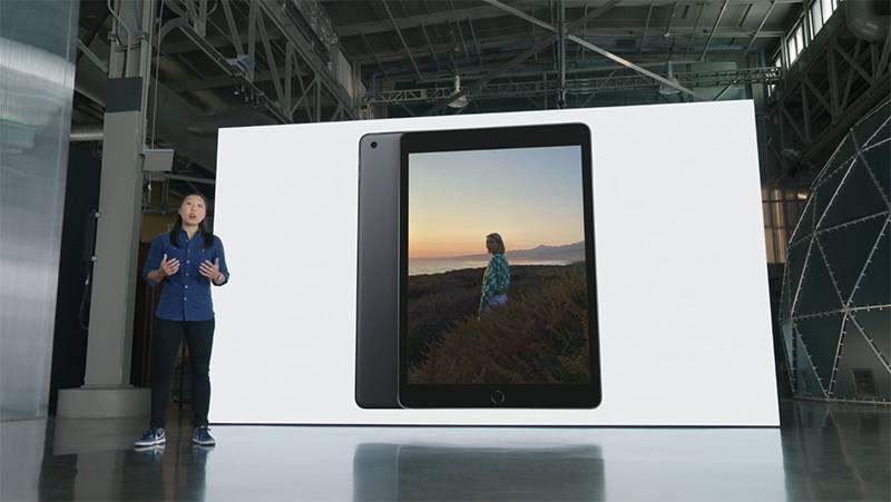 A13 바이오닉 칩을 탑재한 9세대 애플 아이패드. 출처=애플