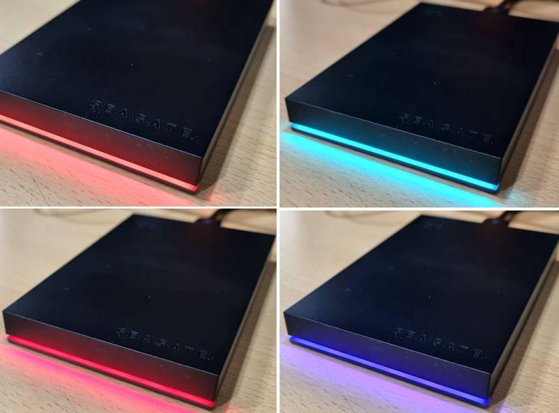 다양한 색으로 빛나는 RGB LED