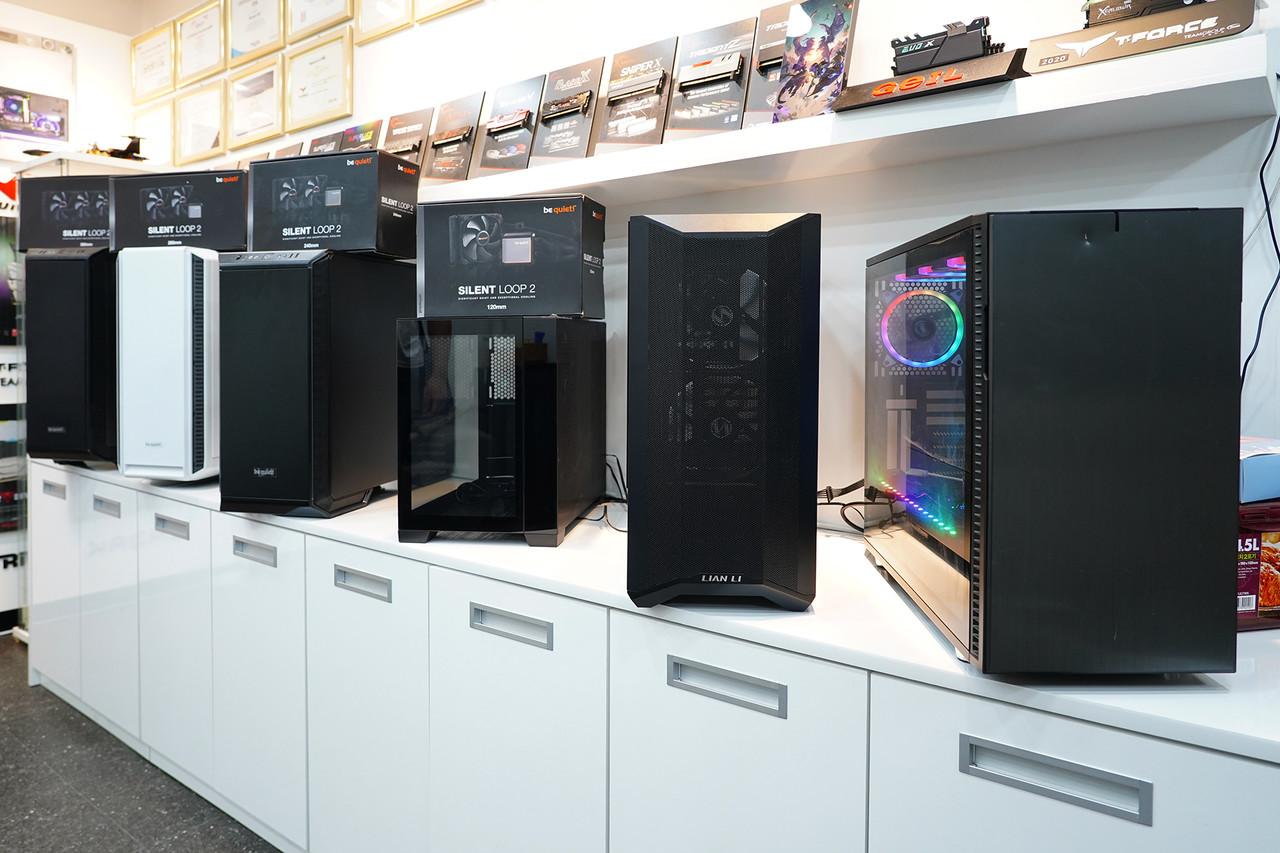 ▲ 다양한 PC 하드웨어 제조사들의 제품을 국내 유통하는 서린씨앤아이