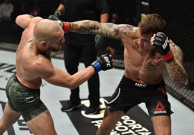 ▲ UFC 257에서 2차전을 치룬 코너 맥그리거(왼쪽)과 더스틴 포이리에(오른쪽) (사진: Sherdog)