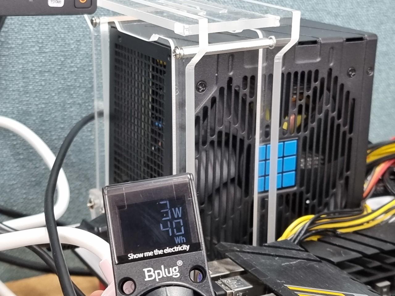 ▲ 전원 버튼을 3초 정도 눌러 부팅하면 일반 파워 모드로 변경된다. 해당 상태에서는 대기 전력이 그대로 측정된다. 전원이 꺼진 상태에서 3W 정도로 확인된다.