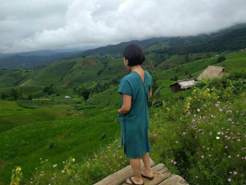 태국 치앙마이 소수민족 마을에서 만끽한 풍경
