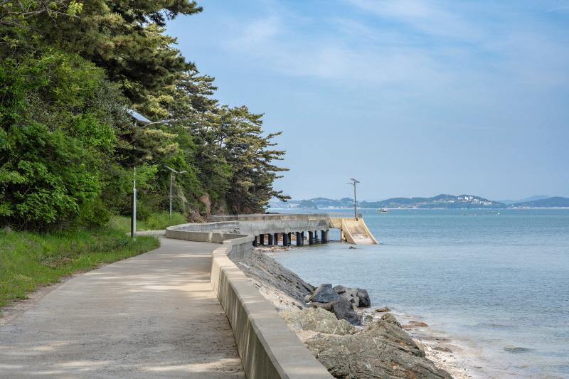 고대도 해안 다리길 전경