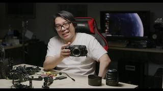시네마 카메라 치곤 작은겁니다. ㅎㅎㅎ 블랙매직 디자인 포켓 시네마 카메라 6K (BMPCC 6K)