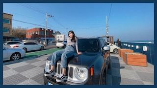 누나 차 샀다! 지프 레니게이드!