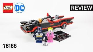 레고 슈퍼히어로즈 76188 배트맨 클래식 TV시리즈 배트모빌(Batman Classic TV Series Batmobile)  리뷰_Review_레고매니아_LEGO Mania