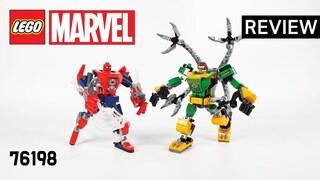 레고 마블 76198 스파이더맨 VS 닥터 옥토퍼스 맥로봇 대결(LEGO Marvel SpiderMan & Doctor Octopus Mech Battle)  리뷰_Review