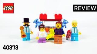레고 40373 놀이공원 미니피겨 액세서리 세트(Fairground Minifigure Accessory Set)  리뷰_Review_레고매니아_LEGO Mania